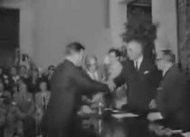 Consegna Mercurio d'Oro, Roma - Archivio Storico Luce