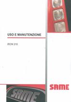 IRON 210 - Uso e manutenzione
