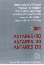 ANTARES 100 - 110 - 130 - Manual de Taller