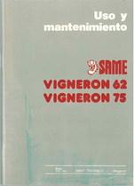 VIGNERON 62 - 75 - Uso y manutencion