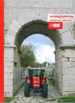 Catalogo di Gamma:Des tracteurs de premiere classe : EXPLORER Classic - ARGON Classic