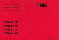 DORADO 55-65-75-85 - Catalogo ricambi originali / Original parts catalogue / Catálogo peças originais