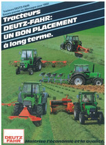 Tracteurs Deutz - Fahr un bon placement a long terme