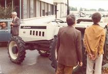 Riunione dei dirigenti Lamborghini presso lo stabilimento di Pieve di Cento