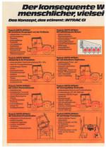 DEUTZ INTRAC 2004 GI / für Gewerbe, Industrie und kommunale Aufgaben