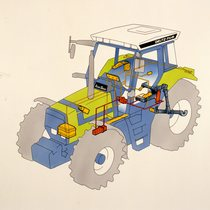 [Deutz-Fahr] trattore AgroStar DX 4.61 - DX 4.71 - DX 6.11 - DX 6.31 - DX 6.61, schemi e illustrazioni
