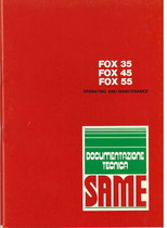 FOX 35 - 45 - 55 - Operating and maintenance