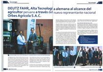 DEUTZ-FAHR, Alta Tecnología alemana al alcance del agricultor peruano a través del nuevo representante nacional Orbes Agrícola S.A.C.