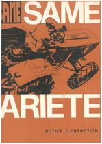 ARIETE - Utilisation et entretien