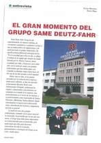 El gran momento del grupo SAME Deutz-Fahr