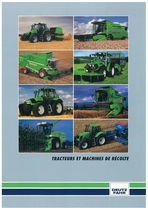 Tracteurs et machines de récolte