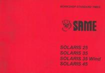 SOLARIS 25 - 35 - 35 WIND - 45 - Workshop standard times