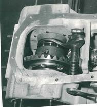 Bloccaggio differenziale del trattore SAME Centauro