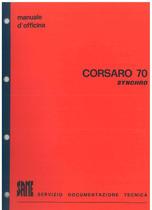 CORSARO 70 SYNCRHO - Manuale d'offcina