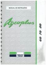 AGROPLUS 60-70-80 - Uso e Manutenção