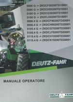 5090 G ->ZKDCF50200TD10001 - 5090 G ->ZKDCH50200TD10001 - 5100 G ->ZKDCG30200TD10001 - 5100 G ->ZKDCJ30200TD10001 - 5090.4 G ->ZKDCF90200TD20001 - 5090.4 G ->ZKDCH90200TD20001 - 5105.4 G ->ZKDCG70200TD20001 - 5105.4 G ->ZKDCJ70200TD20001 - 5115.4 G ->ZKDCH10200TD20001 - 5115.4 G ->ZKDCK10200TD20001 - Manuale operatore