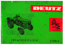 D 40 L - Ersatzteilliste / Spare parts list / Liste de pièces de rechange / Lista de repuestos