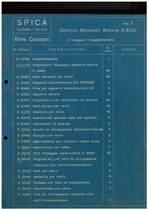 """""""Motore B 8/110 - Distinta materiali per gruppi - Commessa 1720"""""""