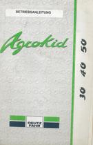 AGROKID 30 - 40 - 50 - Betriebsanleitung