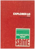 EXPLORER 65 SPECIAL - Libretto uso & manurtenzione
