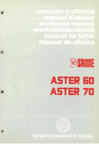 ASTER 60 - 70 - Manual de Taller
