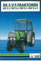 DX 3 V - F Traktoren DX 3.30 - 3.50 - 3.70 - 3.90 F