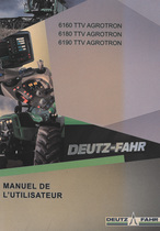 6160 TTV AGROTRON - 6180 TTV AGROTRON - 6190 TTV AGROTRON - Manuel de l'utilisateur