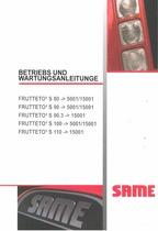 FRUTTETO³ S 80-90-90.3-100-110 - Betriebs und Wartungsanleitung