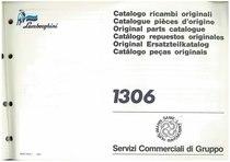 1306 - Catalogo Parti di Ricambio / Tractor Spare Parts / Catálogo de peças originais
