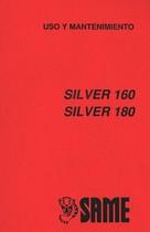 SILVER 160 - SILVER 180 - Uso y mantenimiento