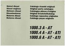 MOTORE 1000.3A- 1000.4A- 10006A - Catalogo Parti di Ricambio / Catalogue des Pièces de Rechange / Spare Parts Catalogue / Catàlogo Piezes de Repuesto / Ersetzteilkatalog / Catálogo de Peças Originais