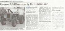 Grosse Jubiläumsparty fur Hurlimann