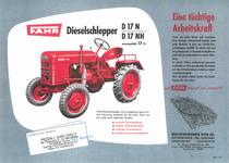 FAHR Dieselschlepper D 17 N / D 17 NH