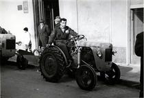 Sfilata trattori SAME del concessionario Di Nardo