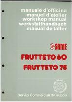 FRUTTETO 60 - 75 - Manuale d'officina