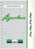 AGROLUX F 50-60-70-80 - Uso e Manutenção