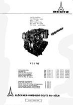 F3 L 712 - Ersatzteilliste / Spare parts list / Liste de pièces de rechange / Lista de repuestos