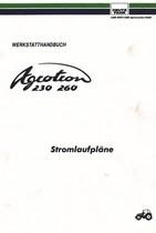 AGROTRON 230 - AGROTRON 260 STROMLAUFPLÄNE - Werkstatthandbuch