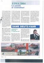 SAME Deutz-Fahr: l'operazione Deutz AG ci rende più forti