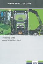 AGROTRON L710 - AGROTRON L720 ->10001 - Uso e manutenzione