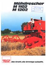 MÄHDRESCHER M 1102 - M 1202