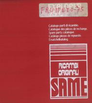 FRUTTETO 75 - Catalogo Parti di Ricambio / Catalogue de pièces de rechange / Spare parts catalogue / Ersatzteilliste / Lista de repuestos / Catálogo peças originais