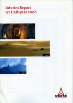 Interim Report 1st Half-year 2008