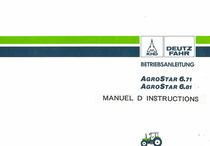 AgroStar 6.71-6.81 - Manuel d'instructions