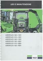 AGROPLUS V 320-410-420 - Libretto Uso & Manutenzione