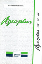 AGROPLUS 67 - 77 - 87 - Betriebsanleitung