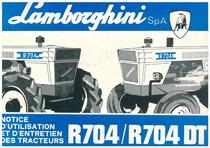 R 704 - 704 DT - Utilisation et Entretien