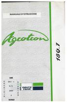 AGROTRON 180.7 - Libretto Uso & Manutenzione