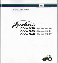 AGROTRON TTV 1130-1145-1160 - Manuale d'officina