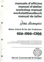 MOTOR - 916.6 W fuer Traktoren 956 - 1106 - 1360 TURBO - Werkstatthandbuch